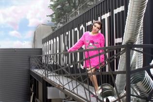 Sweater: Gabrielle Lugo / Pantuflas: Andrea
