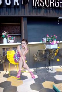 Vestido: Gabrielle Lugo