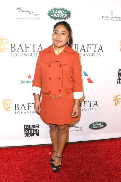 yalitza aparicio at bafta tea party 2019