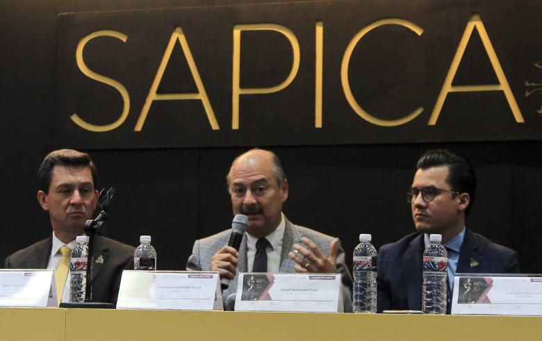 Raul Horner, Luis Gerardo González y Daniel Sepúlveda