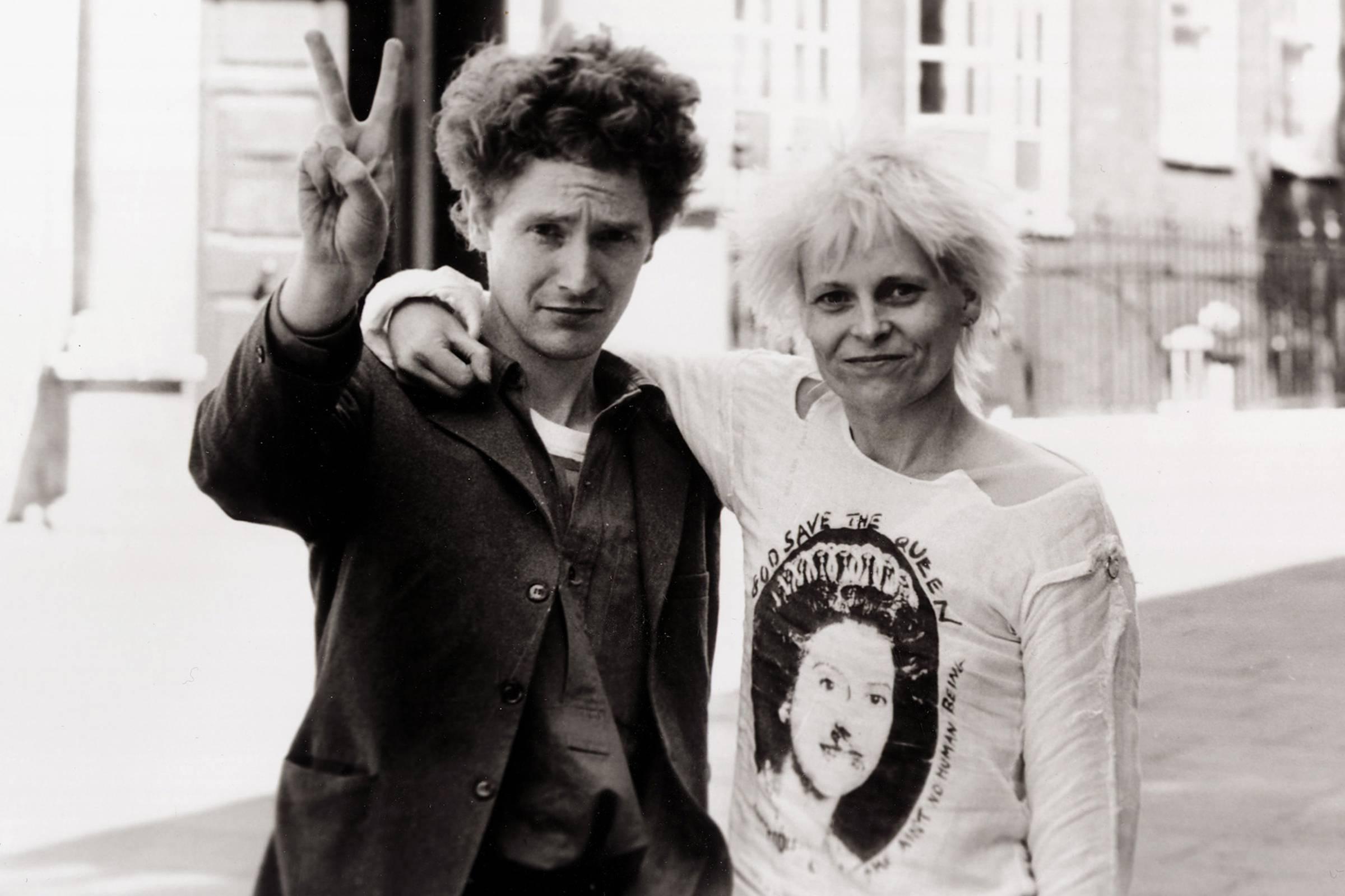 Vivienne Westwood and Malcolm McLaren